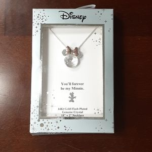 NIB Disney Minnie Necklace